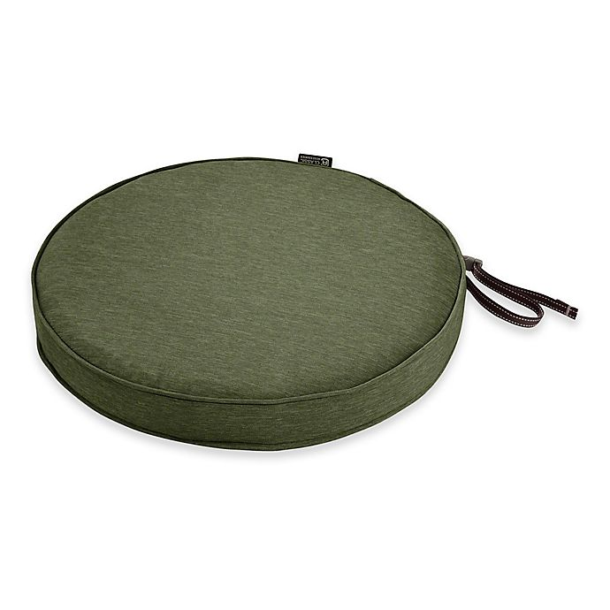 Alternate image 1 for Classic Accessories® Montlake™ FadeSafe 15-Inch Round Outdoor Dining Seat Cushion