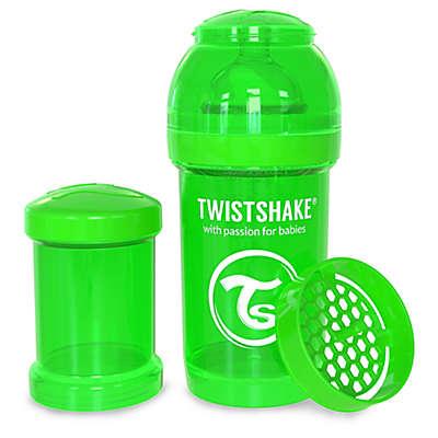 Twistshake Plastic Anti-Colic Baby Bottle in Green