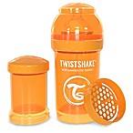 Twistshake 6 oz. Plastic Anti-Colic Baby Bottle in Orange
