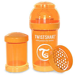 Twistshake Plastic Anti-Colic Baby Bottle in Orange