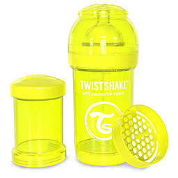 Twistshake Plastic Anti-Colic Baby Bottle in Yellow