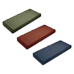 Classic Accessories® Montlake™ FadeSafe 18-Inch x 42-Inch Patio Bench/Settee Cushion