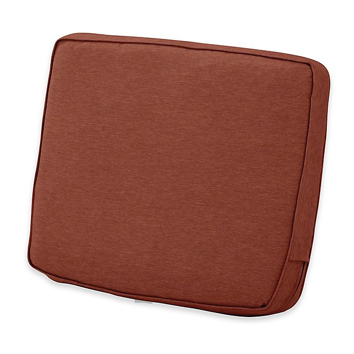 Alternate image 1 for Classic Accessories® Montlake™ FadeSafe 20-Inch x 23-Inch Lounge Back Cushion in Red
