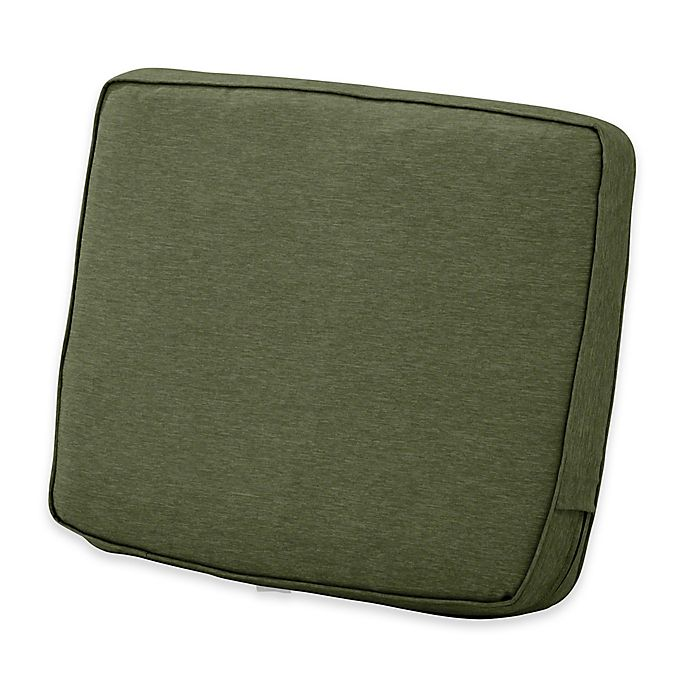 Alternate image 1 for Classic Accessories® Montlake™ FadeSafe 20-Inch x 23-Inch Lounge Back Cushion in Green