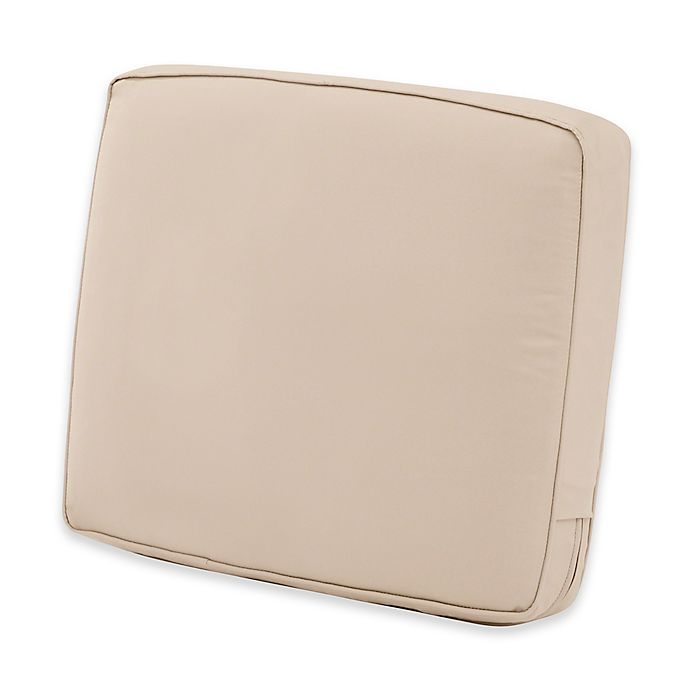 Alternate image 1 for Classic Accessories® Montlake™ FadeSafe 20-Inch x 23-Inch Patio Lounge Back Cushion