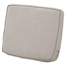Classic Accessories® Montlake™ FadeSafe 18-Inch x 25-Inch Lounge Back Cushion in Grey
