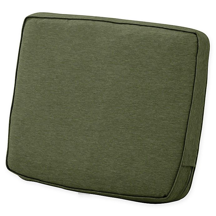 Alternate image 1 for Classic Accessories® Montlake™ FadeSafe 22-Inch x 25-Inch Lounge Back Cushion in Green