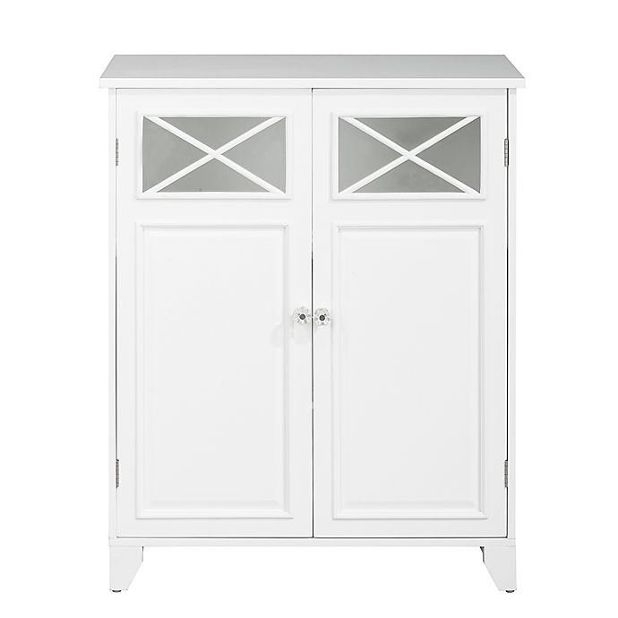 Strange Elegant Home Fashions Allison 2 Door Floor Tower Cabinet In Interior Design Ideas Clesiryabchikinfo