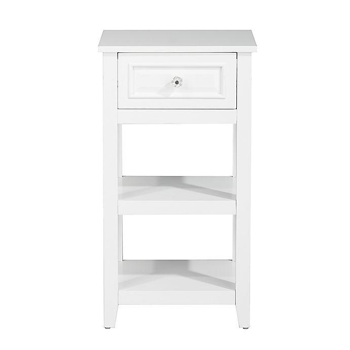 Alternate image 1 for Elegant Home Fashions Allison Floor Cabinet in White