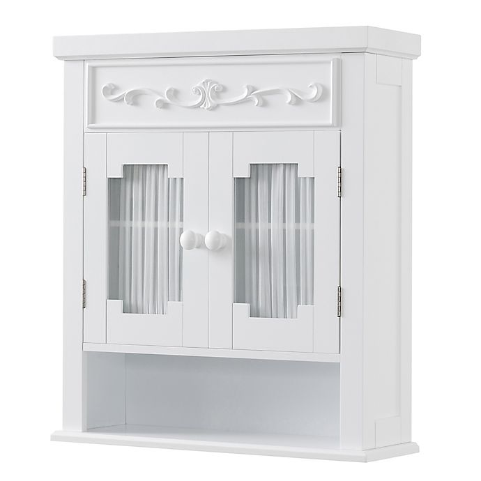 Alternate image 1 for Elegant Home Fashions Wall Cabinet in White