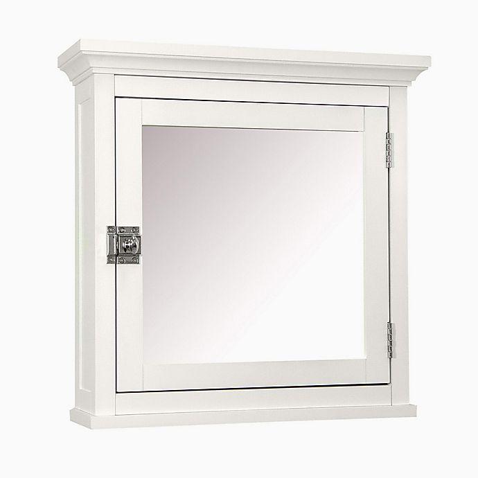 Alternate image 1 for Elegant Home Fashions Helen Medicine Cabinet in White