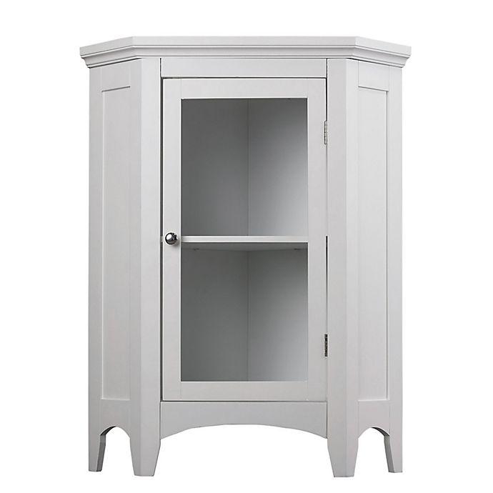 Alternate image 1 for Elegant Home Fashions Helen Corner Floor Cabinet