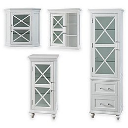 Elegant Home Fashions Hugo Cabinet Collection in White