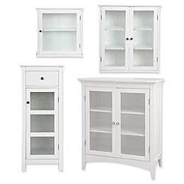 Elegant Home Fashions Olivia Cabinet Collection in White