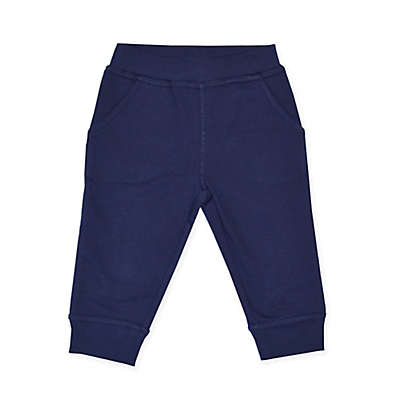 Kidtopia French Terry Jogger Pant in Navy