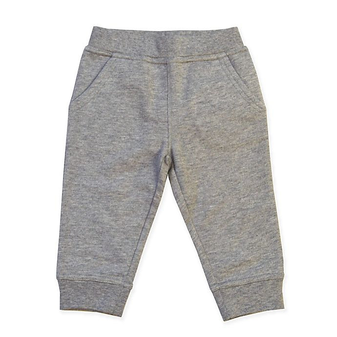 Alternate image 1 for Kidtopia French Terry Jogger Pant in Grey