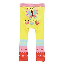 Doodle Pants® Butterfly Leggings in Yellow
