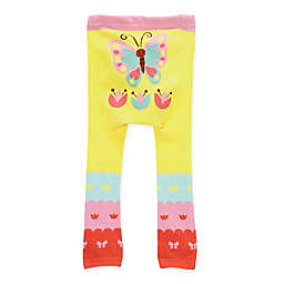 Doodle Pants® Butterfly Leggings in Yellow