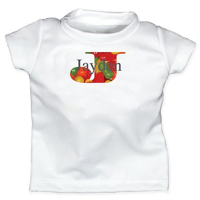 Alternate image 1 for Raindrops Candylicious Size 12-18M Monogram Letter \