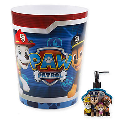 Paw Patrol Best Pup Pals Bath Accessories Collection