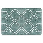 Colordrift Mandy 20-Inch x 30-Inch Bubble Embroidery Bath Rug in Aqua