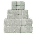 Grund Pinehurst 6-Piece Turkish Organic Cotton Towel Set in Sage