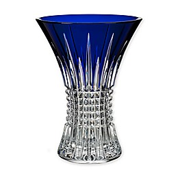 Waterford® Lismore Diamond Cobalt 8-Inch Vase