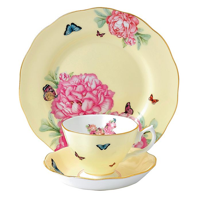 Alternate image 1 for Miranda Kerr for Royal Albert Joy 3-Piece Place Setting