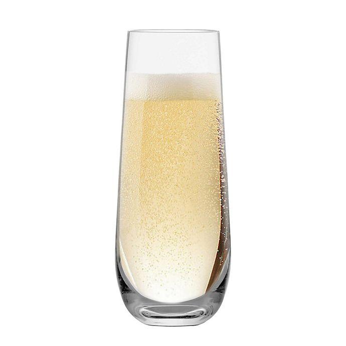 Alternate image 1 for Schott Zwiesel Tritan Forte Stemless Champagne Flutes (Set of 6)