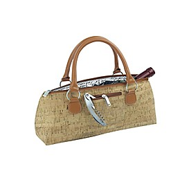 Primeware® Insulated Wine Purse in Gold
