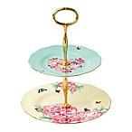 Miranda Kerr for Royal Albert Blessings/Joy 2-Tier Cake Stand