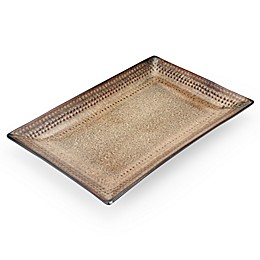 Pfaltzgraff® Cambria Rectangular Platter in Brown