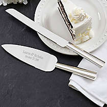Mikasa Stanton 2 Piece Cake Knife And Server Set Bed Bath Beyond