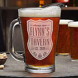 Beer Label Beer Pitcher