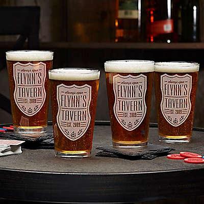 Beer Label 16 oz. Pint Glass