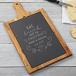 Be Married Slate & Wood Paddle Board