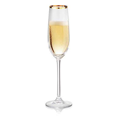 Artland® Gold Band Champagne Flutes (Set of 4)