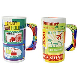 Multiple Choice® One Way Ticket Porcelain Mug Collection