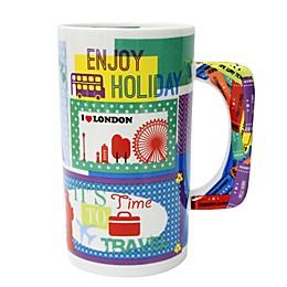 Multiple Choice® One Way Ticket A Porcelain Mug