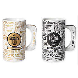 Multiple Choice® Coffee Drinks Porcelain Mug
