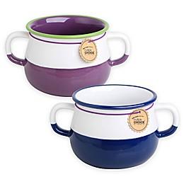 Multiple Choice® Two-Tone Stonenamel Soup Cup