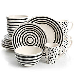 Laurie Gates Naivete 16-Piece Dinnerware Set