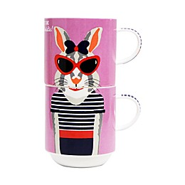 Multiple Choice® 2-Piece Witty and Wicked Stackable Mug Set