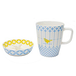 Multiple Choice® Robin Boo 2-Piece Mug and Lid Set