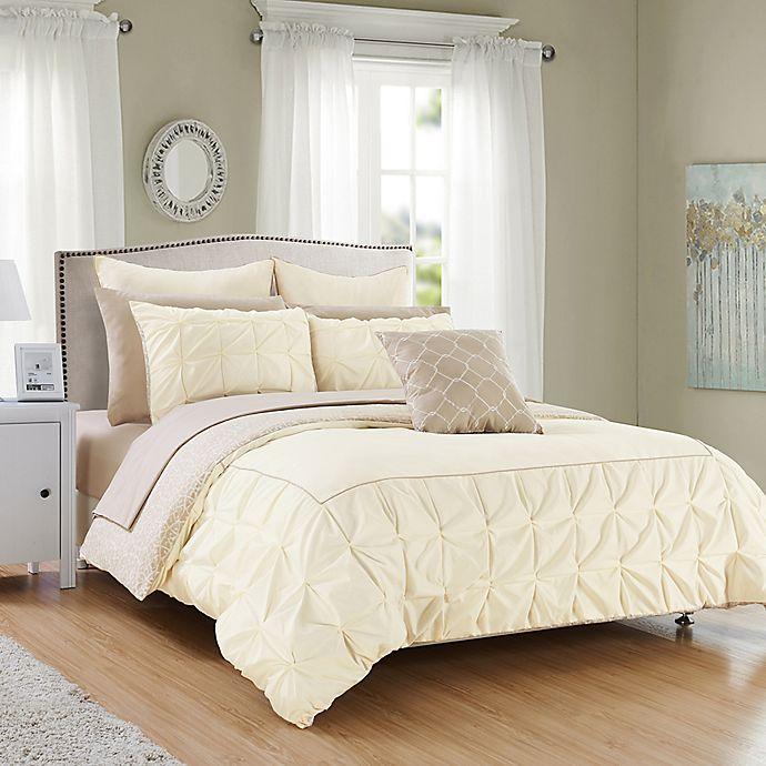 Alternate image 1 for Chic Home Keppel Reversible Comforter Set