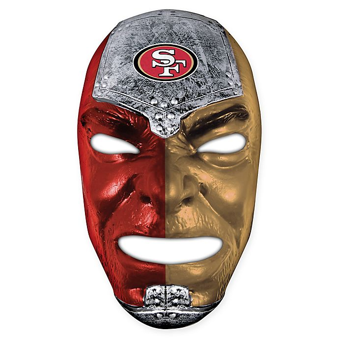 Nfl San Francisco 49ers Fan Face Mask Bed Bath Amp Beyond