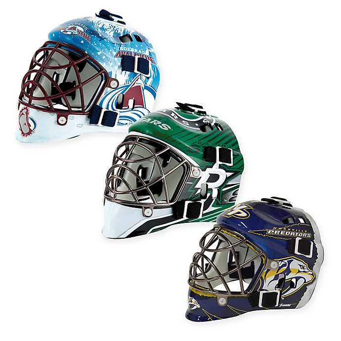 Alternate image 1 for NHL Mini Goalie Mask Collection