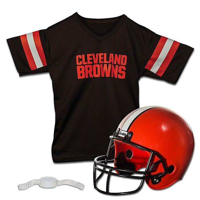 6f3be3228 NFL Cleveland Browns Kids Helmet/Jersey Set | Bed Bath & Beyond