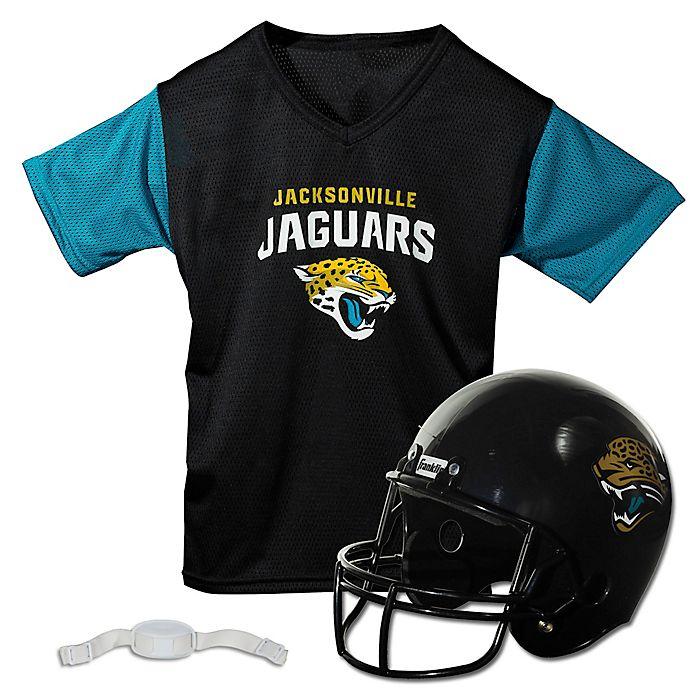 c88bcf94 NFL Jacksonville Jaguars Kids Helmet/Jersey Set | Bed Bath & Beyond