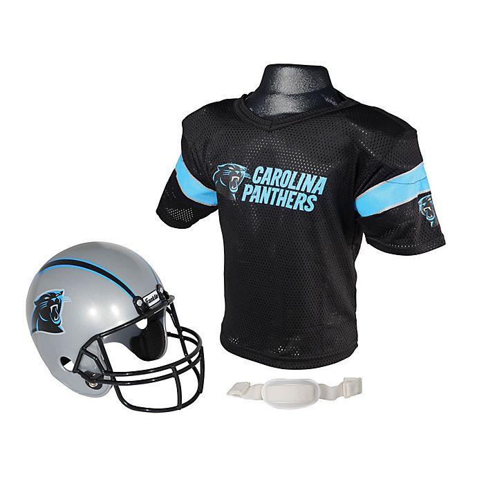 Alternate image 1 for NFL Carolina Panthers Kids Helmet/Jersey Set